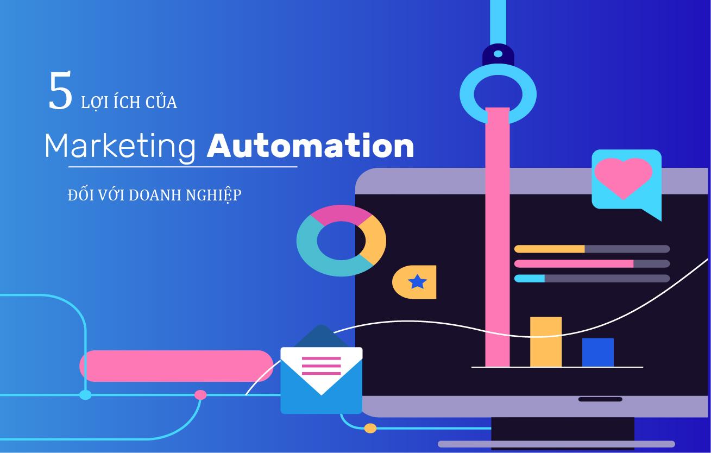 5 lợi ích hệ thống Marketing Automation của phần mềm CRM mang lại