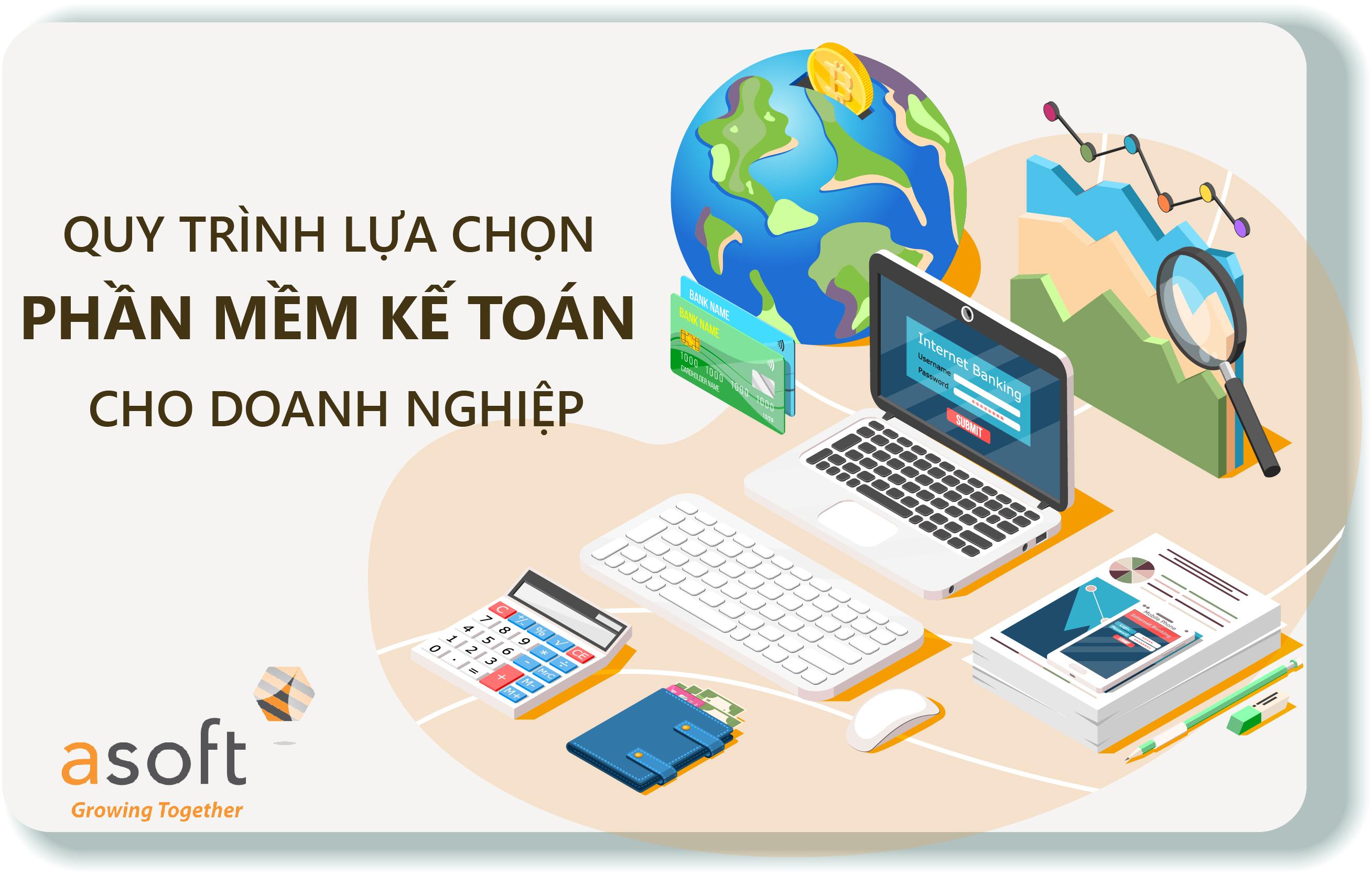 Quy trình lựa chọn phần mềm kế toán hiệu quả cho doanh nghiệp