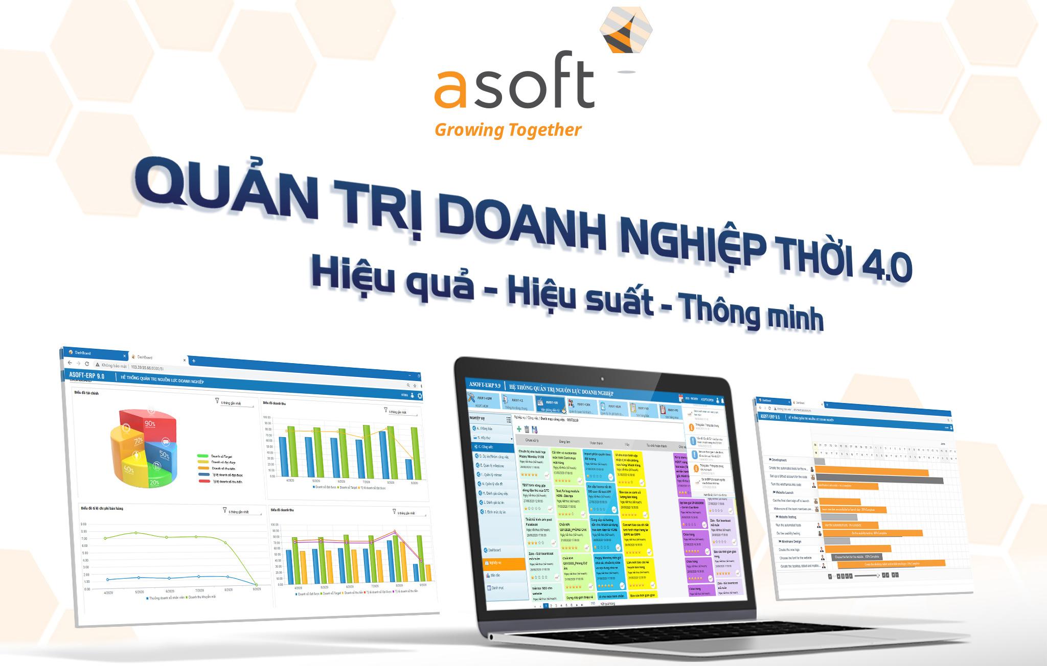 Hệ thống phần mềm ASOFT-ERP 9 R9 có gì mới?