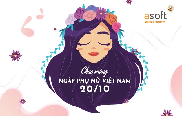 Mừng ngày Phụ nữ Việt Nam 20-10