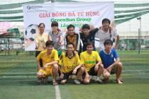 Giải bóng đá Tứ Hùng lần II năm 2013