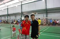 Giải cầu lông GreenSun Group 9-2012