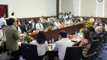 Lễ ký kết hợp tác với ĐH Nguyễn Tất Thành - 02/2013